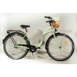 Rower miejski NiceBike 28'' Pistacjowy