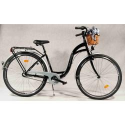 Rower miejski NiceBike 28'' Czarny