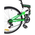 Rower górski FULL 26 cali grafitowo zielony