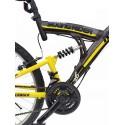 Rower górski FULL 26 cali grafitowo żółty