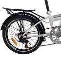 Rower składany składak NICEBIKE biały